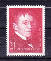 AUSTRIA   1974 ,  Karl Krauss 100 Years Birth   , Y&T  #  1277,  Cv   1.00  E , **  M N H , V V F - 1971-80 Nuovi & Linguelle