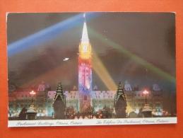 27990 PC: CANADA: ONTARIO: Ottawa, Parliament Buildings.  (Dated 1993). - Ottawa