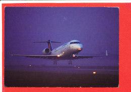 AVION Cpm Lufthansa Canadair Jet - 1946-....: Moderne