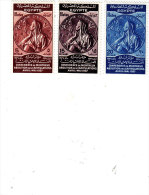 Egypt 1938 Montreux Conference 3 Stamps Complete Set MNH- Superb- Scarce-SKRILL PAY ONLY - Égypte