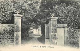 50 LAUNAY EN SAINT OSVIN L´entrée CPA - Frankreich