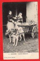 Thème: Chiens - CPA - Attelage De Chiens - Ostende - Laitière Flamande - Hunde