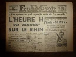 25-26 Mars 1945 FRANCE-SOIR :Mme Montracher, épicière 3 Rue De Bazeilles Raconte La Vie Dans Les Camps De La Mort - 1939-45