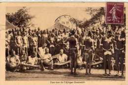 Afrique Occidentale: Tam-Tam, Seins Nus, Collection A. Breger, Voyagée, Vendue En L´état - Afrique Du Sud, Est, Ouest