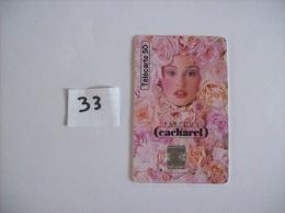 CACHAREL  EAU D´EDEN  Made In Paradise Parfums - Telecartes France 50  Unités - Voir Photo (33) - Parfum