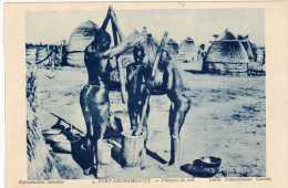 Afrique : Tchad, Fort-Archambault, Pileuses De Mil, Seins Nus,Collection La Maison D'Art Colonial N°4, Vendue En L´état. - Afrique Du Sud, Est, Ouest