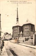 4696/A/GI/DE - HONFLEUR (FRANCIA) - Rue Premord Et Abside De L'Eglise Saint Catherine - Honfleur