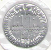 SAN MARINO 1 LIRA 1977 FAO - San Marino