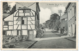 STAVELOT - Rue De Spa Et Haute Levée. - Stavelot