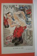 PUB -PHARMACEUTIQUE( Labo TETARD - BEAUVAIS )  MILITARIA  -1910 - Les Cuirs  (RIO-illustrateur ) - Publicidad