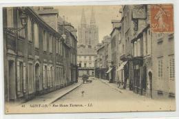 SAINT LO (50) - RUE HAUTE TORTERON - Saint Lo