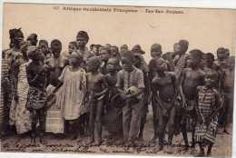 Afrique Occidentale: Tam-Tam D'enfants, Seins Nus, Collection Fortier N°457, Voyagée, Vendue En L'état. - Afrique Du Sud, Est, Ouest