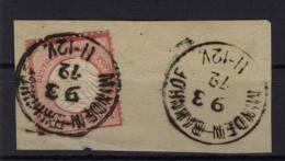 Deutsches Reich Michel No. 4 gestempelt used