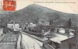 12 - Villefranche-de-Rouergue - Confluent De L'Alzou Et De L'Aveyron - Villefranche De Rouergue
