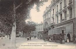 12 - Villefranche-de-Rouergue - Promenade Guiraudet (Hôtel Moderne) - Villefranche De Rouergue