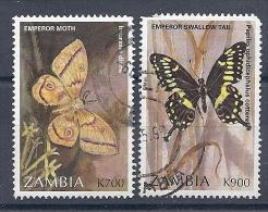 131007153  ZAMBIA  YVERT   Nº  653/54 - Zambie (1965-...)