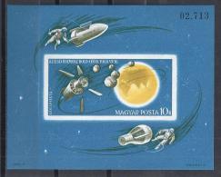ESPACIO - HUNGRÍA 1965 - Yvert #H58 Sin Dentar - MNH ** - Espacio
