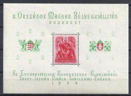 HUNGRÍA 1938 - Yvert #H3 - MLH * - Hungría