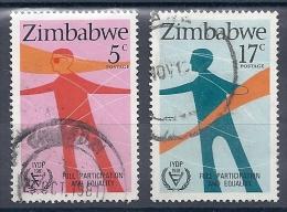 131007175  ZIMBABWE  YVERT   Nº  25/26 - Zimbabwe (1980-...)
