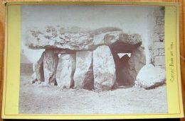PLOUHARNEL - Photo Cabinet 11x16cm CORCORO - Roche Aux Fées ( Crucuno à Erdeven ) - Antiche (ante 1900)
