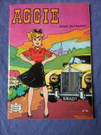 BD Brochée AGGIE N°30 Edition Originale - Aggie