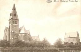 Ohey Eglise Et Presbytere Edit.Vve Toussaint 1912 - Ohey