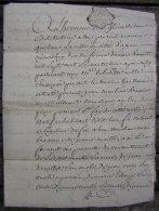 Agen 1763  Mariage De Jean Marliac Brassier Et De Anne Foures (généalogie) - Manuscripten