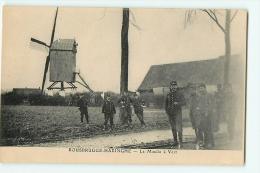 ROUSBRUGGE HARINGHE : Le Moulin à Vent. 2 Scans. - Poperinge