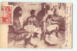 Dahomey : Au Marché. 2 Scans. Edition Lauroy - Dahomey
