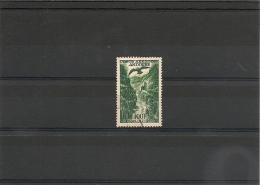 ANDORRE  Année 1955/57 P.A  N° Y/T 2 Oblitéré Côte : 11,00 € - Poste Aérienne