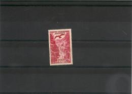 ANDORRE  Année 1955/57 P.A  N° Y/T :3*  Côte : 22,00 € - Poste Aérienne
