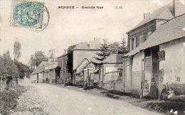 """80 ACHEUX En VIMEU ( Somme )   Grande Rue    """" état """" - Zonder Classificatie"""