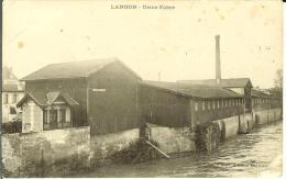 CPA  LANGON, Usine Fabre  8754 - Langon