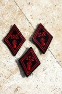 3 Soutaches 152° R.I - Uniforms
