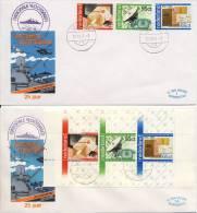 4 St. Veldpost + 1 St. Filatelieloket St. Den Helder Marinestad - Covers & Documents