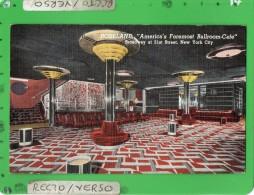 NEW YORK CITY ROSELAND AMERICA' Foremost BALLROOM CAFE - New York City
