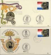 Veldpost - Grenadiers En Jagers - 2 Enveloppen En 5 Briefkaarten (1979) - Period 1949-1980 (Juliana)