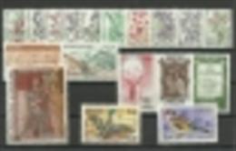 ANDORRA- OFERTA ESPECIAL  CORREO FRANCES AÑO 1985  COMPLETO **  SIN FIJASELLOS  (S-5) - Años Completos