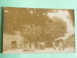 HEREPIAN - 1907 - Rare Carte Photo De Scène De Marché - Sonstige Gemeinden