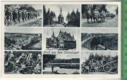 Gruß Aus Dem Sennelager Um 1930/1940 Verlag: Hermann Lorch, Dortmund , POSTKARTE Erhaltung: I-II Karte Wird In Klarsicht - Weltkrieg 1939-45