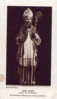 Santino Nuovo SAN AUBERTO Vescovo - Ristampa Tipografica Da Santino Antico - PERFETTO F58 - Religione & Esoterismo