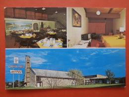 28014 PC: CANADA: NEW BRUNSWICK: Fundy Line Motel, 855 St. Anne St. West, Bathurst, New Brunswick. - Nouveau-Brunswick