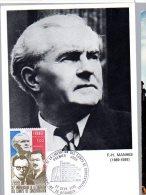 3 Cartes Maximuns, 1° Jour Yvert N° 1853  --  Libération Des Camps - Cartes-Maximum