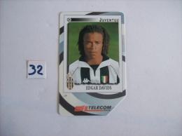 FOOTBALL  Juventus EDGARD DAVIS    - Telecartes Italie Pub Gli Introvabilin Panini  - 10000 Lire    - Voir Photo (32) - Sport