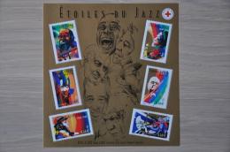 FRANCE ++ 2002 FEUILLE BLOCK YVERT 50 JAZZ MUSIQUE MUSIC  MNH NEUF ** - Sheetlets