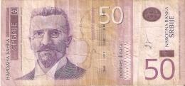 BILLETE DE SERBIA DE 50 DINARS DEL AÑO 2005 (BANKNOTE) - Serbia