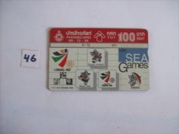 SEA GAMES  Chiang Mai  18 Th Sea Games Du 9 Au 17 Decembre 1995  Annee 1995- Voir Photo (46) - Sport
