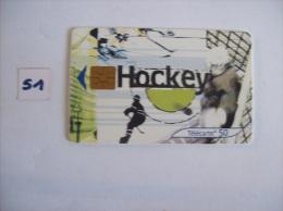 HOCKEY  -telecarte France 50 Unités - Voir Photo (51) - Sport