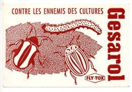 Buvard - Gesarol  Contre Les Ennemis Des Cultures - Agriculture