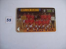 BALONCESTO - Cabitel Gijon Baloncesto  -telecarte Espagne  1000 Pesetas - Voir Photo (55) - Sport